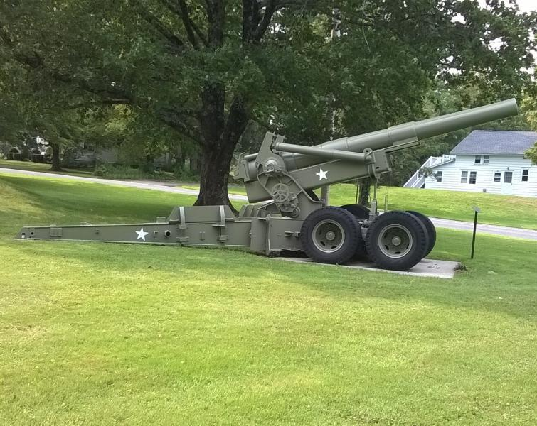 Post 340 Howitzer Re-Painted