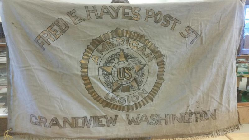 Old Post Flag Discovered