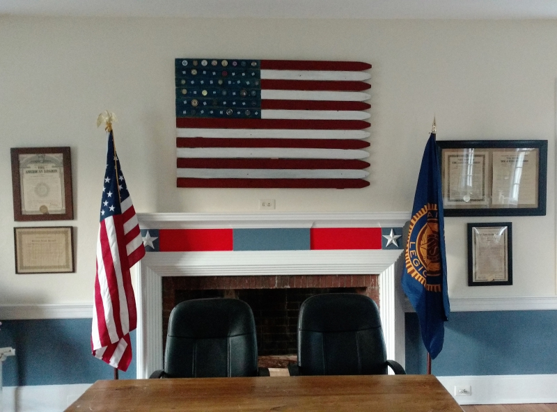 Post 86 Undergoes Renovation of Meeting Hall