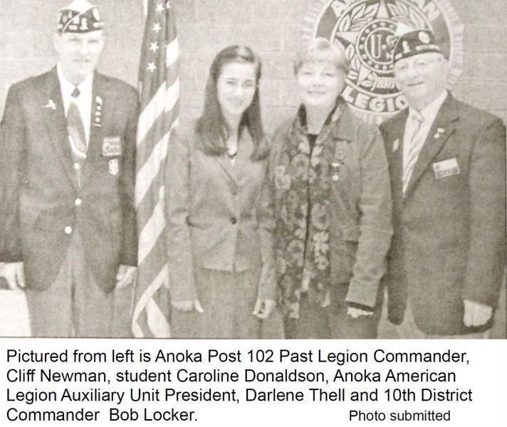 Anoka Legion hosts Oratorical Competiton