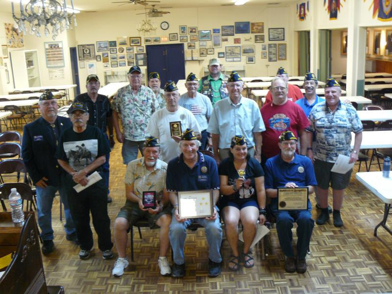 Post 15 bring home Department Awards & More