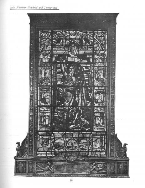 Memorial Window Dedicated