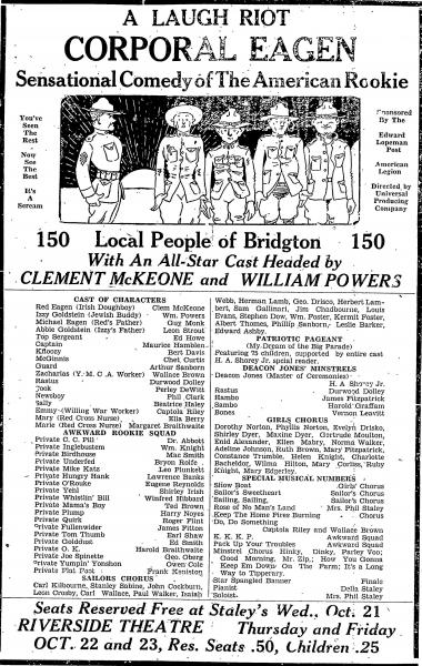 Post 67 Bridgton, Maine | The American Legion Centennial
