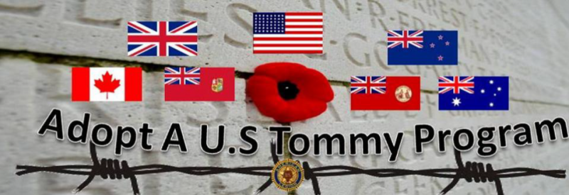 Adopt a US Tommy adoption ceremony, Menin Gate, Ieper