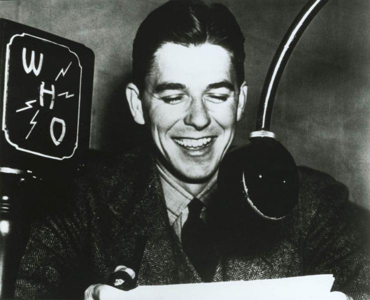 Ronald Reagan in Iowa
