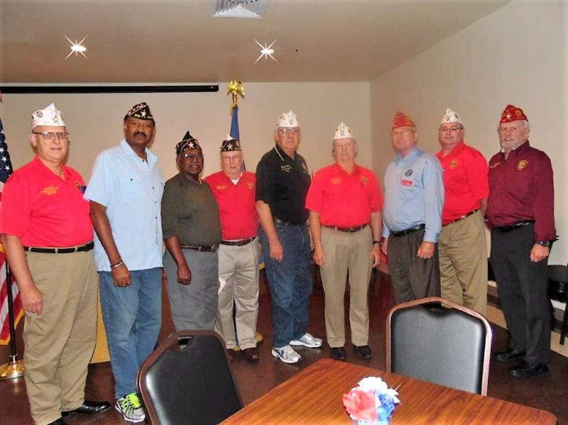 National Commander Dale Barnett Visits Post 828