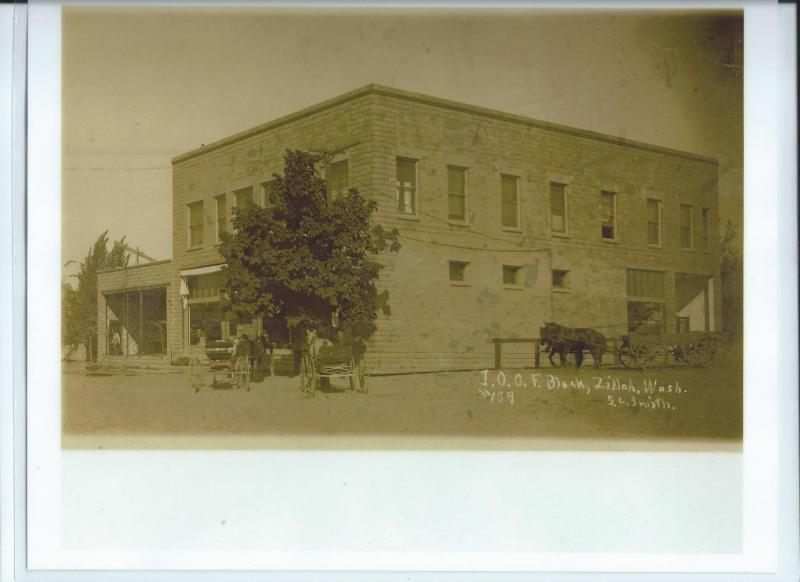 Post 130 meets at the I.O.O.F. Building, built 1908