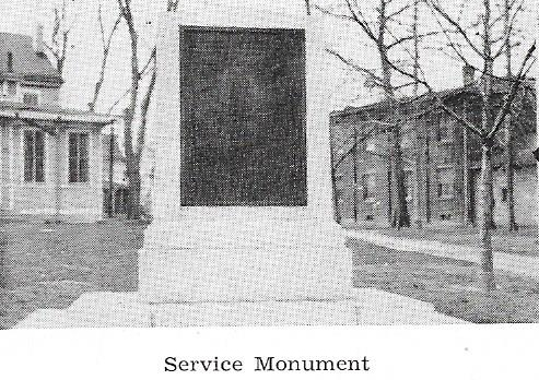 WWI Service Monument Dedicated