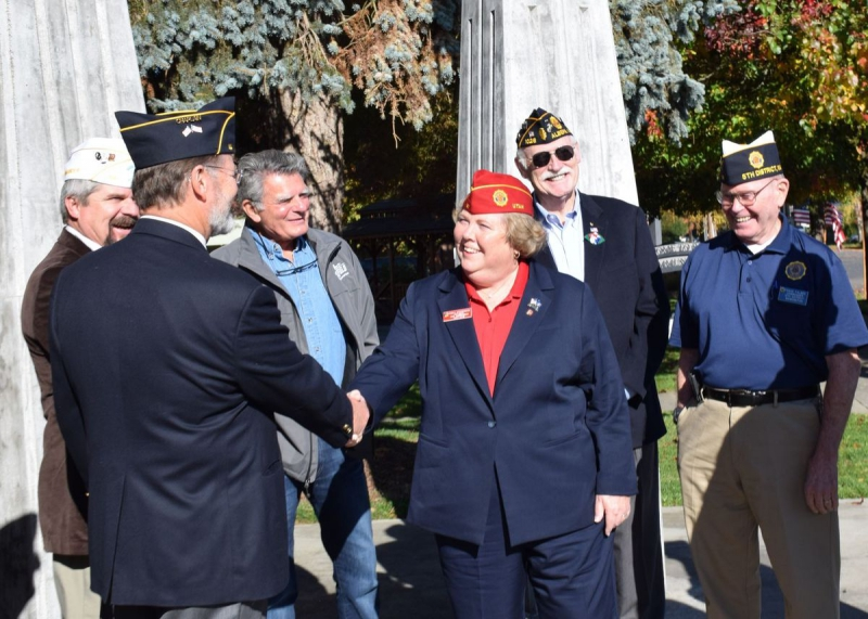 National Vice Commander visits Ridgefield Post 44