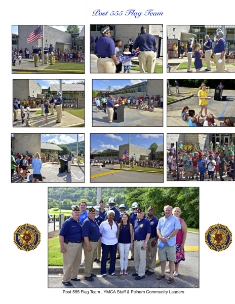 Pelham YMCA Flag Education Program