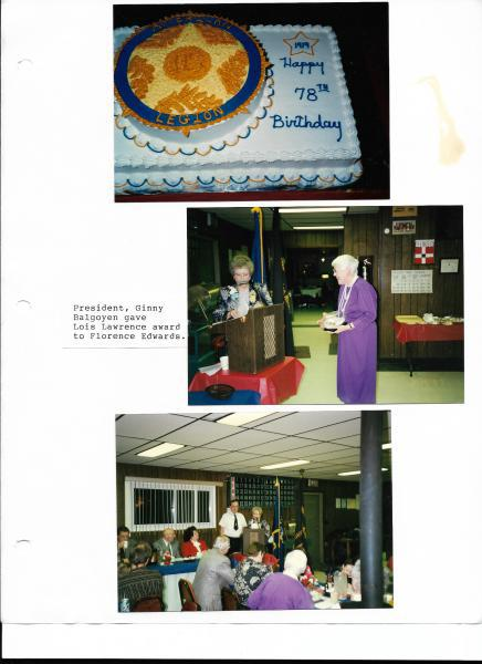 Auxiliary Loses A lifetime member