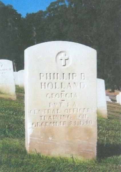 Charter Member Phillip B. Holland