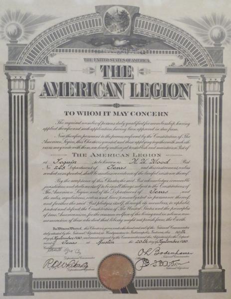 Legion History