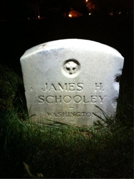James H. Schooley Buried