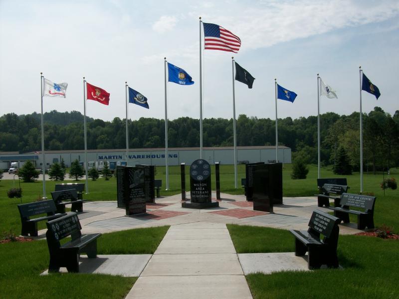 Dedicated Wilton Area Veterans Memorial