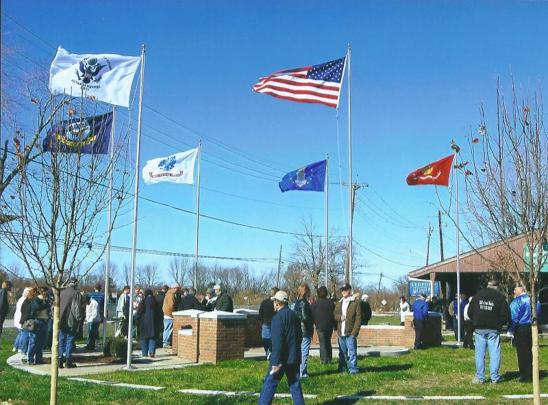 Veterans Memorial Park Dedicated