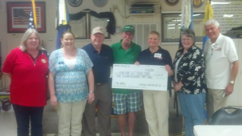 Unit 152 Presents Donation to Honor Flight of West Central Florida