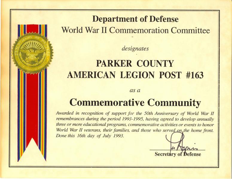 Commemorative Community