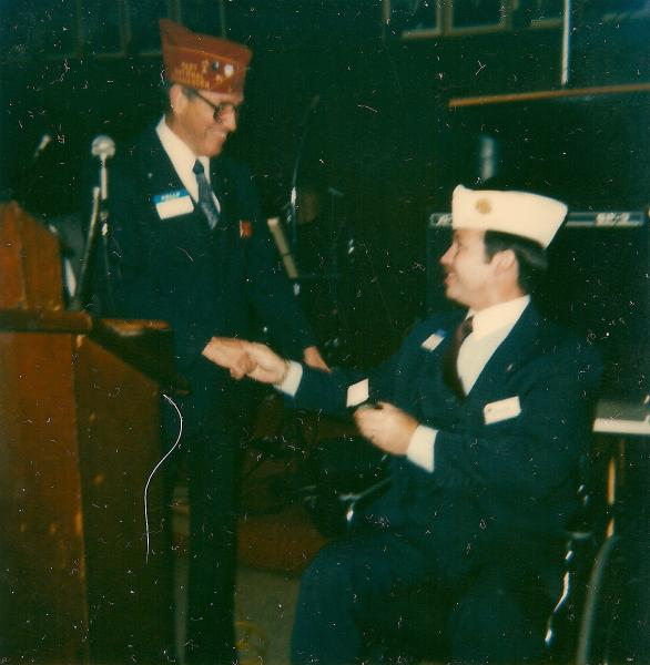 History made at Past Commander's Ball in 1984
