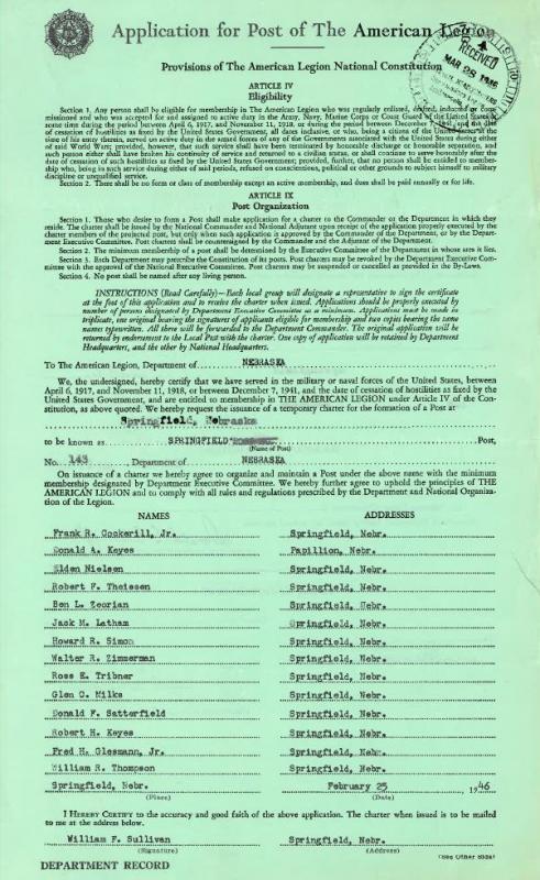 1946 Charter