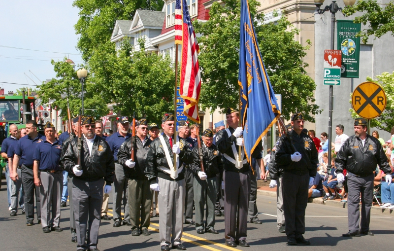 Memorial Day in Freehold