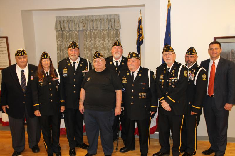Installation of Post 124 Officers, S.A.L. Squadron 124 and American Legion Auxiliary Unit 124 for 2015-2016