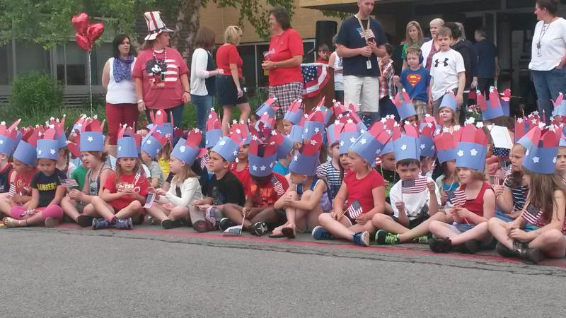 Local Elementary School Pay Respect to Veterans on Flag Day