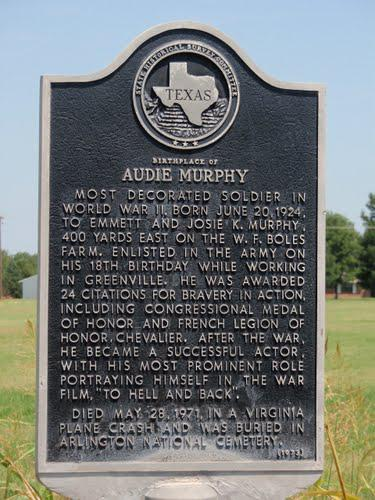 Audie Murphy Medal Of Honor Recipient The American