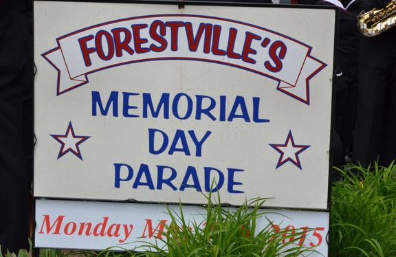 2015/05/25 Forestville Village Memorial Day Parade