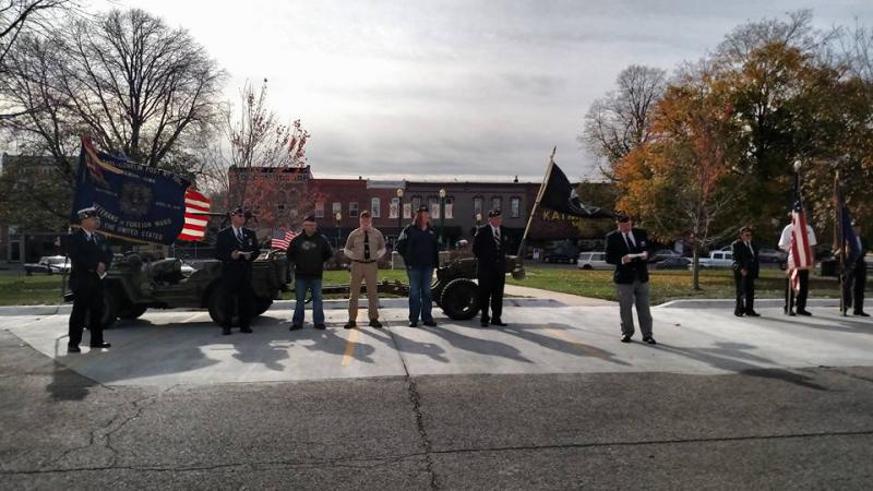 Annual Veterans Day Ceremony 2016
