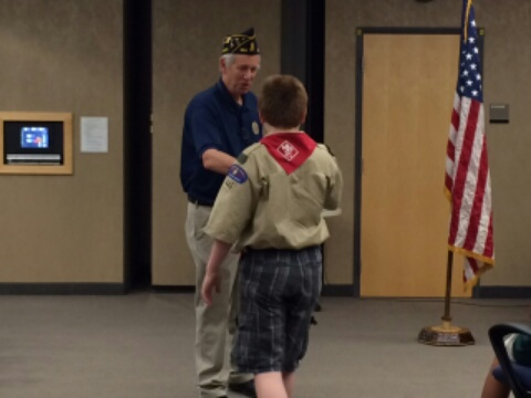 BSA Troop 446 Recognized