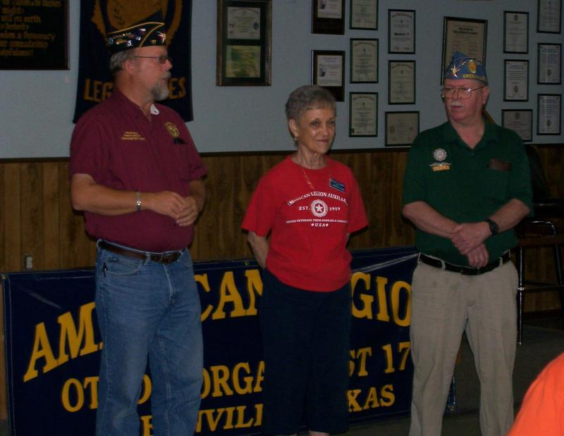 Visit from the Bonham VA Vets