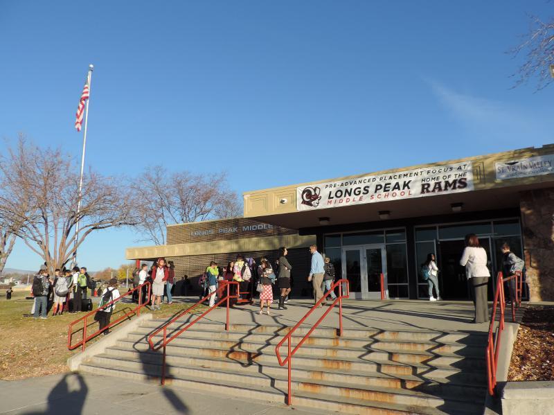 Veterans Breakfast at Longs Peak Middle School