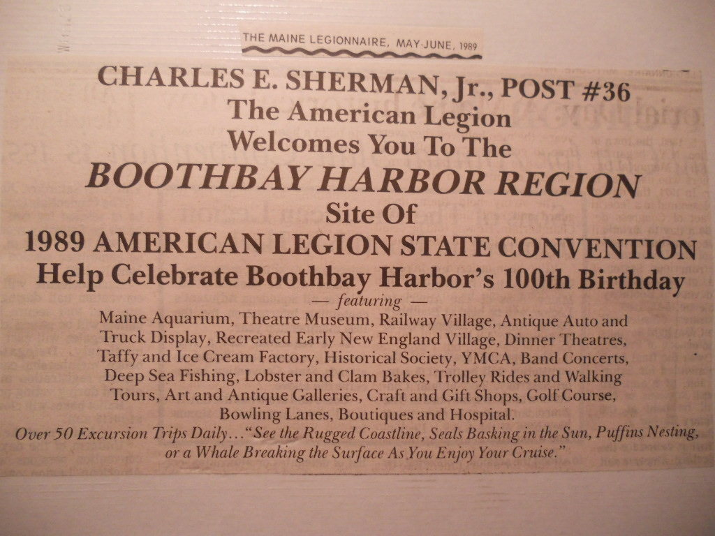 71st State (Dept) Maine Convention