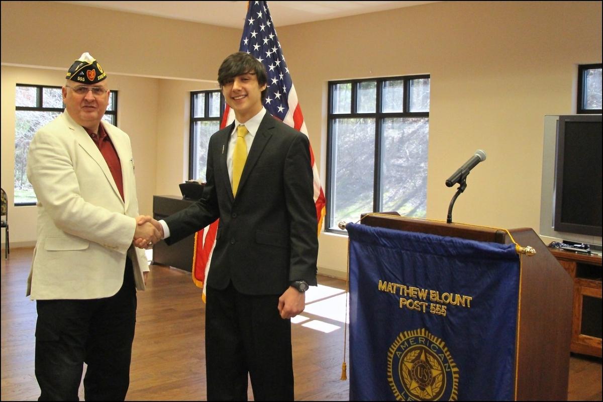 American Legion Post 555 Oratorical Winners