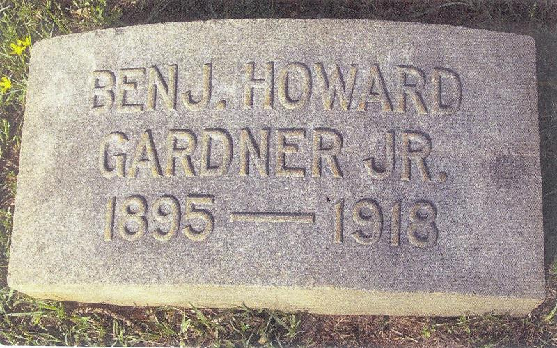 Benjamin Howard Gardner, Jr. - Post Namesake