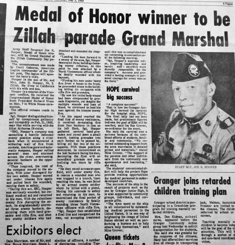 joe hooper  vietnam medal of honor winner