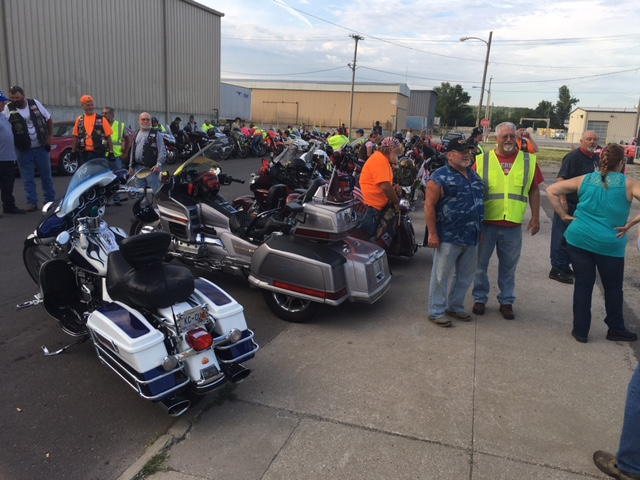 Pony Express Post 359 assists American Legion Riders of Missouri Legacy Run