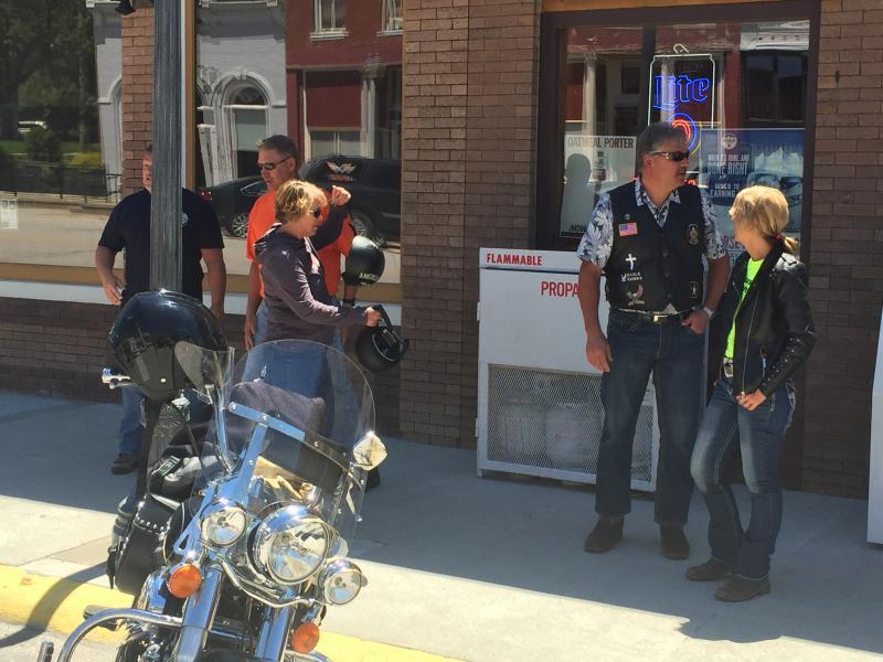 Western Iowa Legion Riders Cruising
