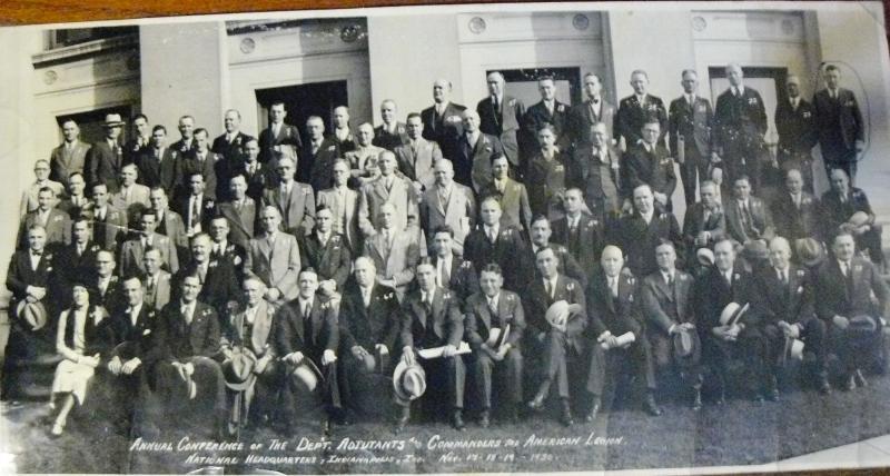 1930  Commander & Adjutant Confrence at National HQ