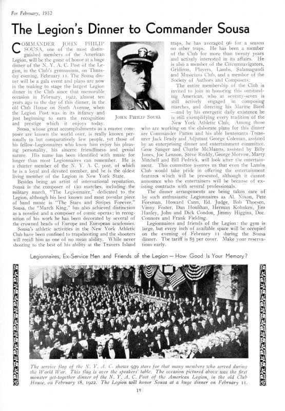 essay on john philip sousa The stars and stripes forever the stars and stripes forever it's the official march of the united states and it's john philip sousa's most famous composition.