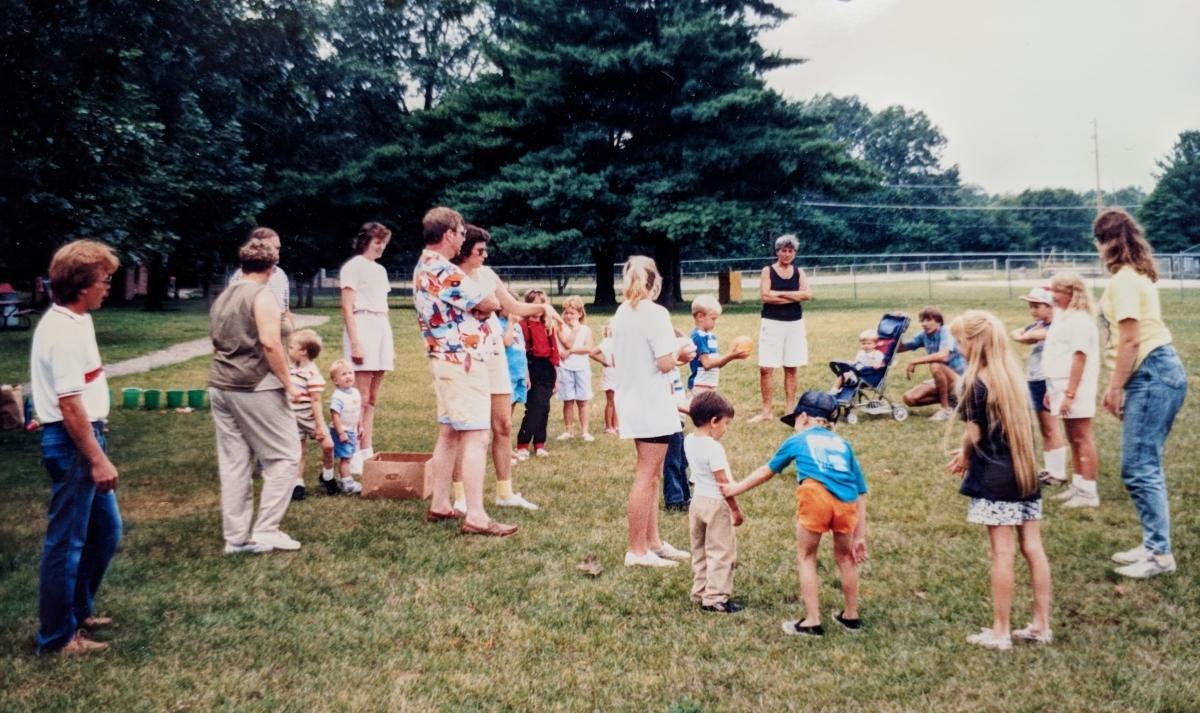1989- Post 28 Picnic at Central Park in Spring Lake