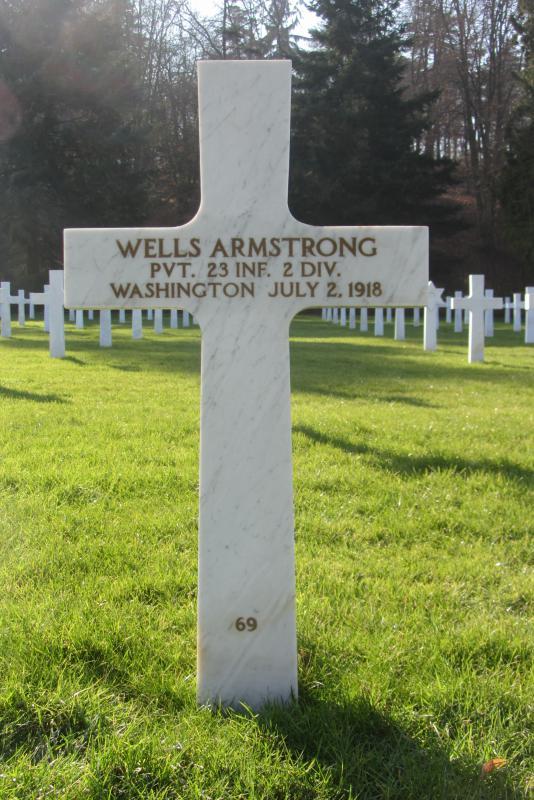 WW1 Monument in Ridgefield