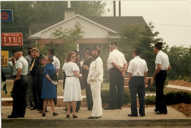 Memorial Day Dedication in Jersey Shore, Pa