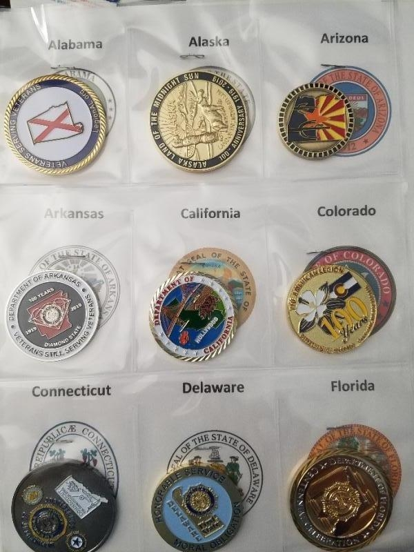 American Legion centennial coins