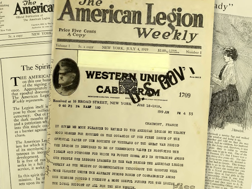 The American Legion Weekly, No. 1