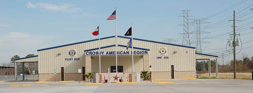 Post 0658 Crosby, Texas
