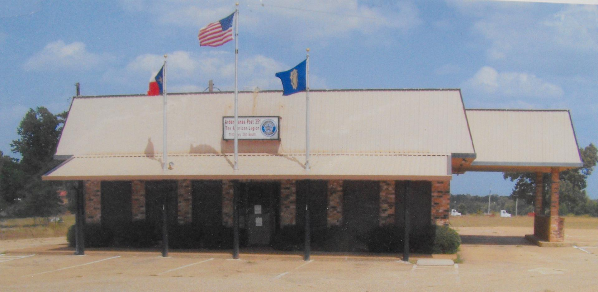 Post 351 Hughes Springs, Texas