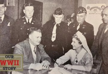 Our WWII Story: American Legion Blood Banks