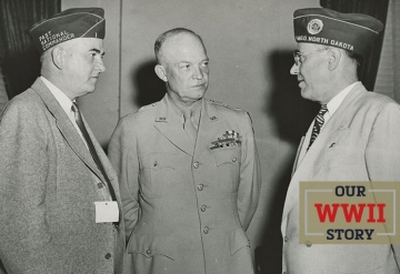 OUR WWII STORY: Eisenhower comes home
